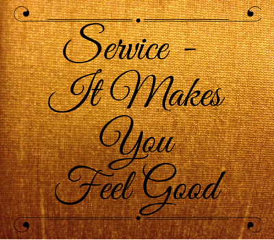 Service-It Makes You Feel Good
