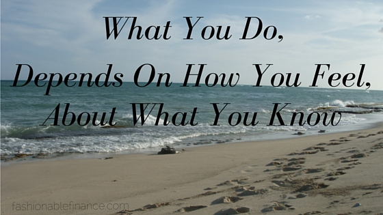 What You Do, Depends On...